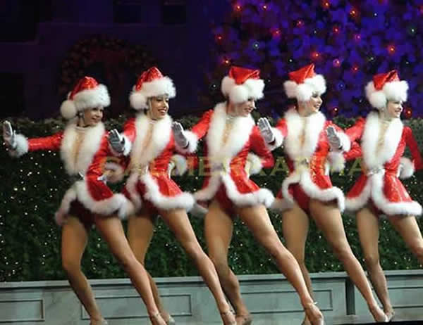 CHRISTMAS THEMED DANCERS TO HIRE - THE SANTA BABYS - MANCHESTER, LONDON, BIRMINGHAM
