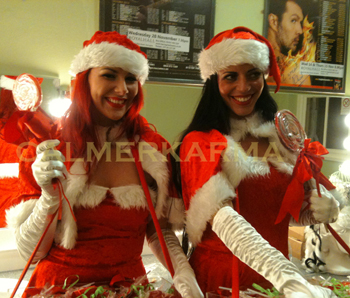 CHRISTMAS PARTY ENTERTAINMENT - SANTA BABY HOSTESSES