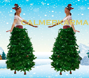 XMAS-TREE-STILTS-TO-HIRE-LED+CRYSTAL-STILTS