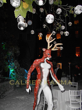 WINTER WONDERLAND AND XMAS PARTY THEMED ENTERTAINMENT - REINDEER MAN