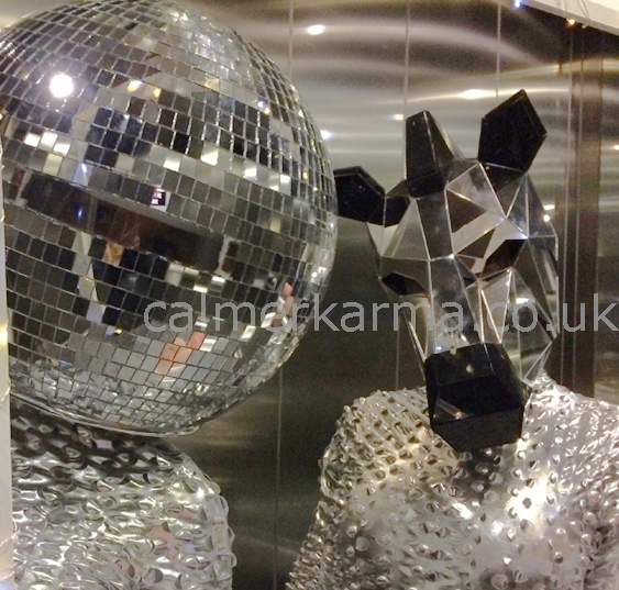 ZEBRA DANCER AND MIRROR BALL PERFORMER- NEW YEARS EVE ACTS TO HIRE