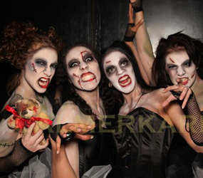 ZOMBIES PERFORMERS TO HIRE - FLASH MOBS - HALLOWEEN ENTERTAINMENT LONDON, BIRMINGHAM, MANCHESTER HIRE