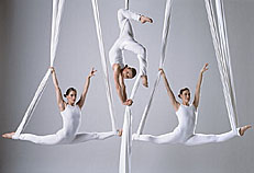 AERIAL SILKS GROUP ACT - photo courtesy Ray Massey