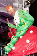 ALICE IN WONDERLAND THEMED PARTIES - CATERPILLAR PERFORMER