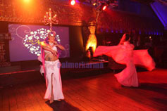belly dancers & shamadan