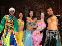 BELLY-DANCERS-LONDON + DERVISH PERFORMER