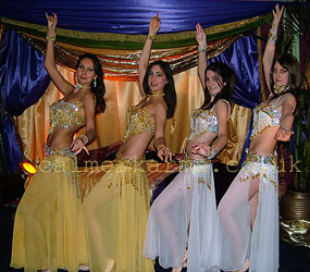 ARABIAN NIGHTS THEMED ENTERTAINMENT TO HIRE -BELLY DANCE TROUPE UK