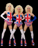 Best of British themed entertainment - fly the Flag