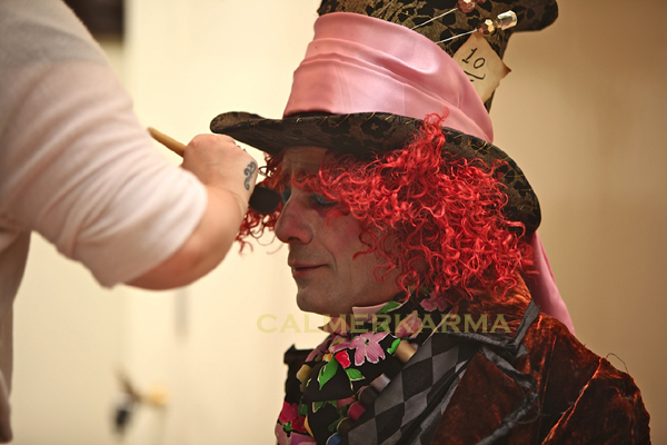 ALICE IN WONDERLAND THEMED ENTERTAINMENT - MAD HATTER BACKSTAGE
