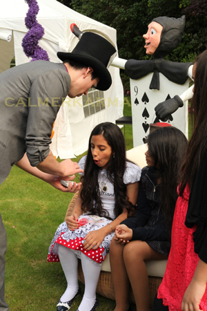 Alice in Wonderland Themed Entertainment - Magician