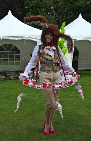 Alice in Wonderland themed entertainment -March Hare