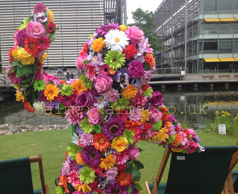 GARDEN THEMED ACTS-LIVING-FLOWER-MAN-ACT-HIRE