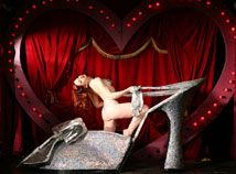 Burlesque Crystal Shoe Act: Gwendoline