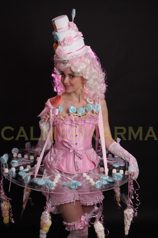 Candy hostesses human canape trays parties and weddings for Human canape trays