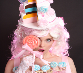 CAKE-TADAH-CANDY+CANAPE-HOSTESS-ACT-TO-HIRE perfect for birthday parties