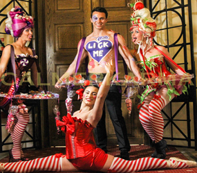 CANDY THEMED ENTERTAINMENT CANDY HOSTS AND HOSTESSES TO HIRE