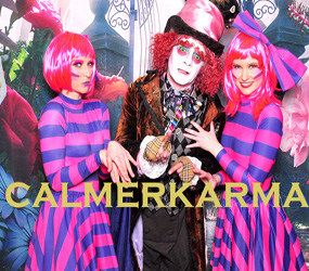 alice in wonderland party entertainment - CHESHIRE CAT THEMED HOSTESSES LONDON