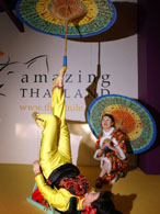 Chinese Themed Entertainment : foot juggling