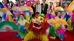 CHINESE THEMED ENTERTAINMENT FROM LIONS TO CHINESE DANCE TROUPES TO CALLIGRAPHERS