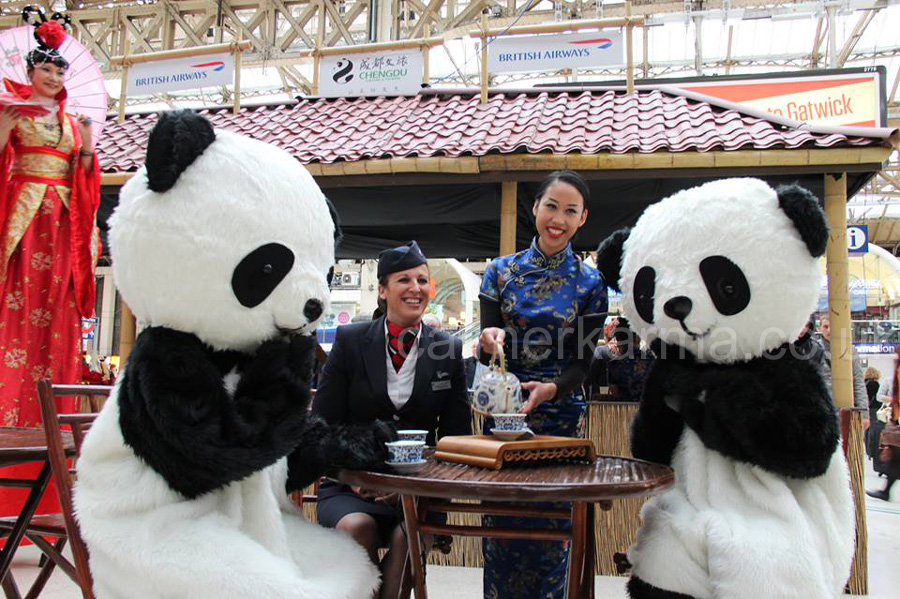CHINESE TEA CEREMONY PERFORMERS TO HIRE