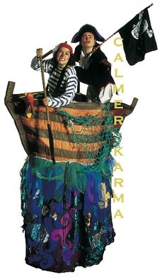 PIRATE THEMED ENTERTAINMENT TO HIRE - COMEDY PIRATE BOAT ACT