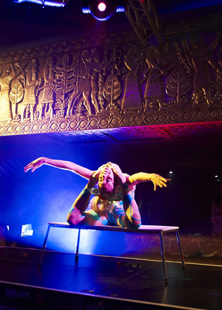 CONTORTIONIST - STAGED ACT - LONDON