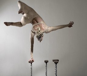 DIAMONDS THEMED LUXURY HAND BALANCING ACT TO HIRE