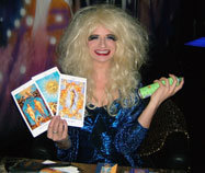Drag Tarot Readings camp banter and predictions to blow your pants off!