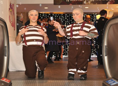 ALICE IN WONDERLAND THEMED ENTERTAINMENT TWEEDLE DEE AND TWEEDLE DUM