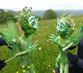 GARDEN & WOODLAND THEMED ENTERTAINMENT - ENCHANTED GARDEN PUPPETS