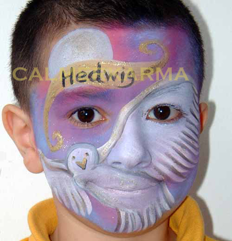CHILDRENS FACE PAINTING - HARRY POTTER THEMED UK