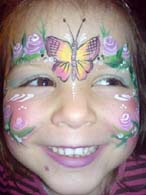 FACE PAINTERS FOR PARTIES - BUTTERFLY