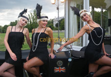GATSBYS GIRLS - SASSY 1920s THEMED HOSTESSES -1920S THEMED ENTERTAINMENT