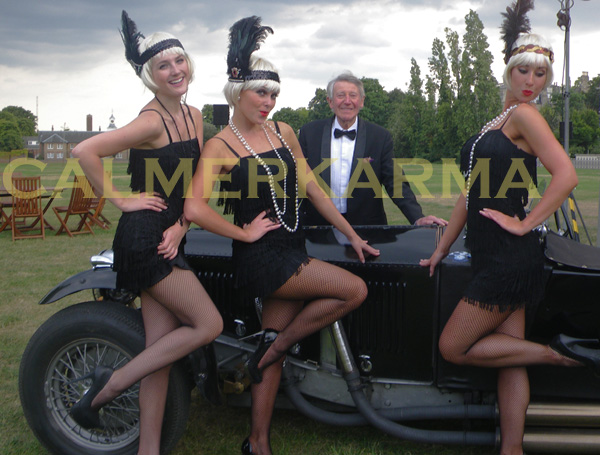 ROARING 20S + GREAT GATSBY THEMED ENTERTAINMENT - FLAPPER USHERETTES DANCERS & HOSTESSES UK