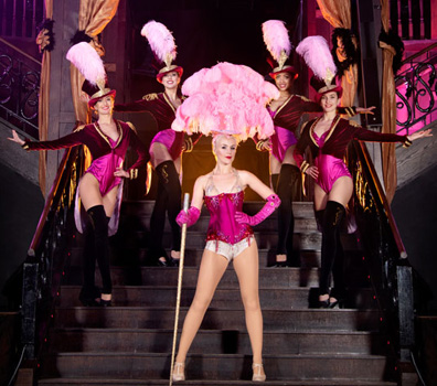 GREATEST SHOWMAN SHOWGIRL CIRCUS DANCE SHOW WITH RING MISTRESS