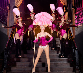 GREATEST SHOWMAN - STAGED SHOWGIRL SHOW WITH RINGMASTER CIRCUS ACTS TO HIRE