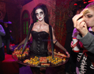 HALLOWEEN THEMED ENTERTAINMENT -Living Canape Act -Zombie dolls