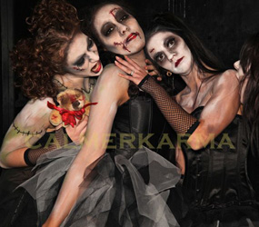 HALLOWEEN THEMED ENTERTAINMENT - ZOMBIE PERFORMERS TO HIRE