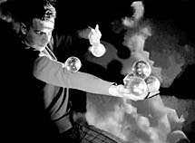 crystal ball or contact juggling