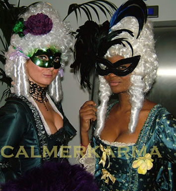 MASQUERADE BALL HOSTESSES TO HIRE