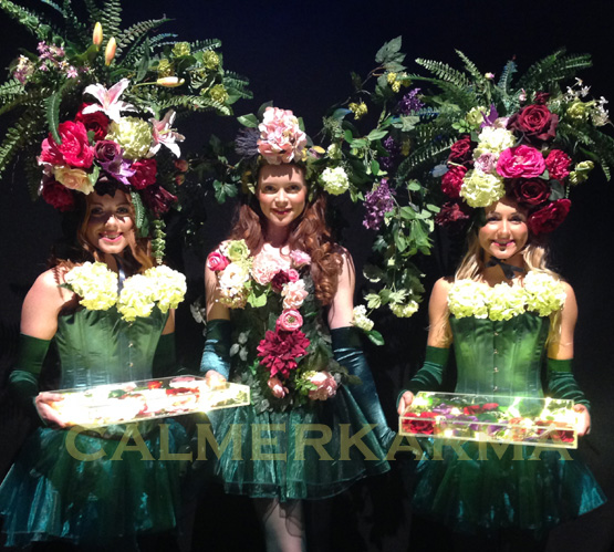 ENCHANTED GARDEN AND MIDSUMMER NIGHTS DREAM THEMED ENTERTAINMENT -LONDON