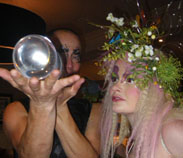 MIDSUMMER NIGHTS DREAM THEMED ENTERTAINMENT - TITANIA AND THE CRYSTAL BALL JUGGLER ACTS