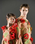 FLOWER THEMED ENTERTAINMENT - STUNNING ACROBAT COSTUMES
