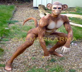 MONKEY CHIMPANZEE MAN PERFORMER JUNGLE & RAINFOREST THEMED EVENTS