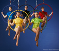 OLYMPICS THEMED ENTERTAINMENT : AERIAL RINGS