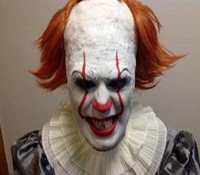 PENNYWISE - HALLOWEEN SCARE ACTOR & EVENT MC HIRE