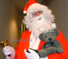 Father Christmas - perfect for any Childrens Parties