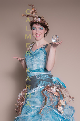 WATER THEMED ENTERTAINMENT - SEA PRINCESS PEARL JUGGLER LONDON MANCHESTER BIRMINGHAM TO HIRE