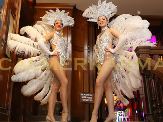 THEMED HOSTESSES - SHOWGIRLS - VEGAS, BOND OR PARISIAN THEMED EVENTS TO HIRE - UK