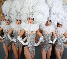 VEGAS THEMED ENTERTAINMENT - SHOWGIRLS TO HIRE UK